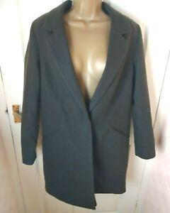 New Look Size 14 Dark Brown Coat