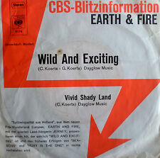 """7"""" 1970 CBS-BLITZ VG++ ! EARTH & FIRE Wild And Exciting"""