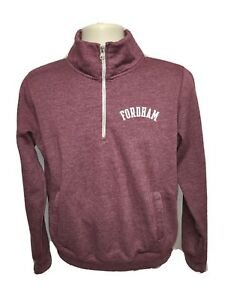 Fordham University Adult Small Burgundy Sweatshirt