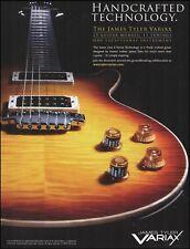 James Tyler Line 6 Variax Electric Guitar ad 8 x 11 advertisement print
