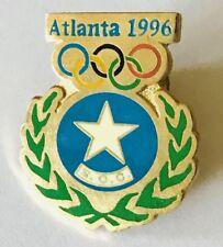 Altlanta 1996 SOC Somalia Olympic Games Committee Pin Badge Rare (E11)