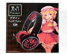 Touhou project design headphones Flandre Scarlet TAITO anime From JAPAN