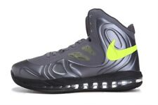 New Nike Air Max Hyperposite sz 9 Charcoal Atomic Green Gray Volt Dunkman Lebron