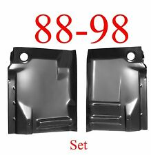 88 98 Front Complete Extended Floor Pan SET, Chevy, GMC, Truck, W/ Back Brace
