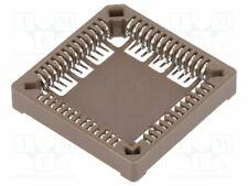 PLCC-52SMD Socket: PLCC - PIN:52 - phosphor bronze - tinned - 1A