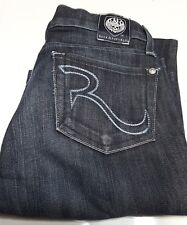 RR Rock & Republic Flare Low-Rise Jeans for Woman (Size 24x32)