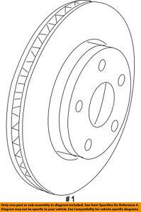 CHRYSLER OEM-Disc Brake Rotor 68242659AB