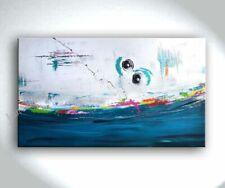 Abstrakte Malereien auf Leinwand