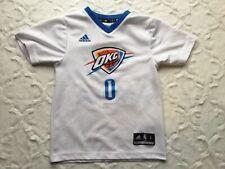 NBA Adidas Youth Small  OKC Thunder Westbrook #0 Jersey