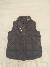 Womens Superdry Gilet Bodywarmer Jacket Style Size Small Good Condition