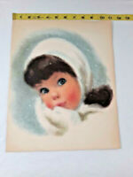 Northern Bath Tissue American Beauty Girl Print Vintage By Frances Hook Snow