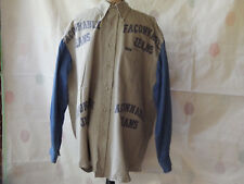 FACONNABLE JEANS  XXL LONG SLEEVE COTTON  SHIRT DESIGNED IN FRANCE  VG CONDITION