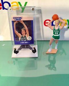 1988 Kenner® Larry Bird RC STARTING LINEUP™️ Card & Figure Boston Celtics Legend