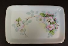 IMPERIAL CROWN CHINA AUSTRIA DRESSER TRAY DISH RECTANGULAR SIGNED HERBERT
