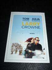 LARRY CROWNE, film card [Tom Hanks, Julia Roberts]