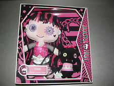 Monster High Friends Plush Doll - Draculaura and Count Fabulous 2009 Mattel