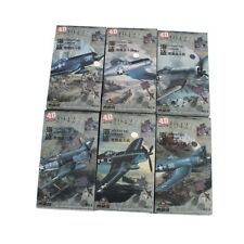 4D Model 1:48 VOUGHT F4U CORSAIR 6pcs Fighter Models Military Assemble Kit