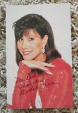 MICHELE LEE AUTOGRAPH AUTO SIGNED POSTCARD HUGE COLLECTION RARE
