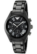 Women's Watches Emporio Armani AR1401 Classic Watches Ceramic Chronograph Date