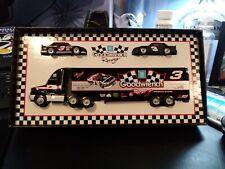 goodwrench rcr transporter car matchbox dale Earnhardt truck nib White rose race