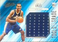 2015-16 Absolute Tools of the Trade TREY LYLES RC Jumbo Jersey Patch /149