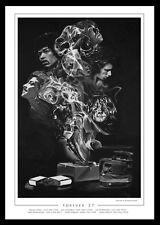 FOREVER 27: Jones-Hendrix-Morrison-Winehouse-Cobain-Joplin - FINE ART PRINT