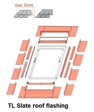 Optilight Roof Window Centre Pivot Skylight Loft Rooflight Flashing Slate Tile 55cm X 78cm No Flashing Required