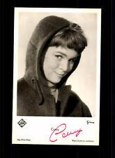 Conny Froboess UFA Autogrammkarte Original Signiert # BC 64677