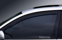 TOYOTA WINDOW ETCHED GLASS VINYL DECALS-STICKERS X2 – 7YR VINYL – CAR MOD