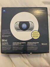 Motorola Bluetooth Car kit IHF1000 NEW Nokia, Sony,Ericsson,lG,Siemens,Motorola
