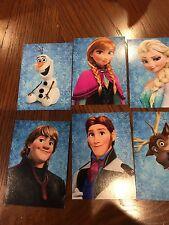 Disney 2013  Frozen  NIP 6 Trading Autograph Cards