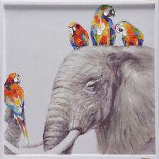 Deko-wandbilder aus Holz von Elefanten
