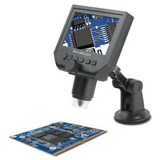 "Zoom 1-600X Portable 4.3"" LCD USB Digital Microscope LED Light For PCB Soldering"
