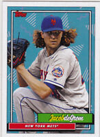 Jacob deGrom Mets 2018 Topps 220 Harper second to none Hair Stats H-2 SP 5196
