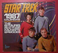 Star Trek 1987 Calendar
