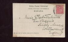 Spain Postal History Stamps