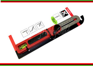 "Kapro K301 7"" Sliding Digital 360 T-BEVEL  Accurate Angle Stainless Steel Ruler"