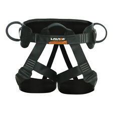 Fusion Climb Centaur Deluxe Tactical Padded Half Body Harness 23kN M-Xl Black