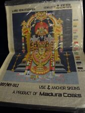 lord VENKATESWARA - Anchor Design Centre - Needlepoint CANVAS