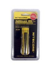 NITECORE 18650 NL189 3400 mah Rechargeable Battery Li-ion Protected B96b