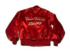 Vintage Bill Elliott NASCAR Racing Jacket Embroidered Hardy's Motorsports Red S