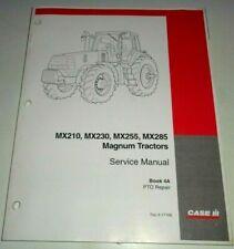 """Case IH Magnum MX210 MX230 MX255 MX285 Tractor """"PTO REPAIR"""" Service Shop Manual"""