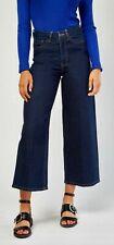 M&S  High Waist Cropped Wide Leg Jeans  Size 14 Reg BNWT