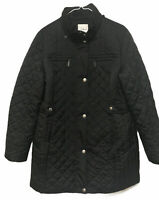 Croft & Barrow Size Large Black Quilted Women's Jacket