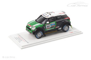 Mini Countryman All4 Racing Winner Rally Dakar 2013 TSM 1:43 TSM144345