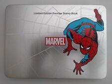 2019 Marvel Spider-man LIMITED EDITION Prestige Stamp Book Number 0003
