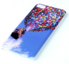iPod Touch 5th 6th 7th Gen - BLUE UP BALLOONS Hard Protector Snap On Case Cover