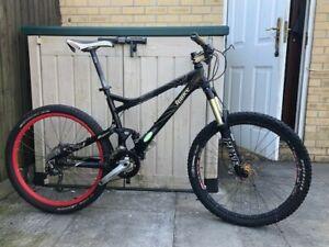 Giant Trance 4 Full Suspension Mountain Bike Medium Frame Fox Rockshox Deore XTR