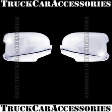 For HONDA Pilot 2009-2011 2012 2013 2014 2015 Chrome Mirror Covers W/ Signal Fit