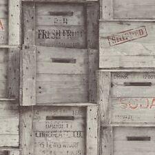 Bois 5 distinctif gris caisses Fond d'écran fd40944 fruits et des boîtes en bois vin